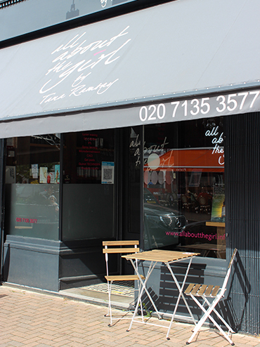 39 all about the girl 39 beauty salon northcote road london for Address beauty salon